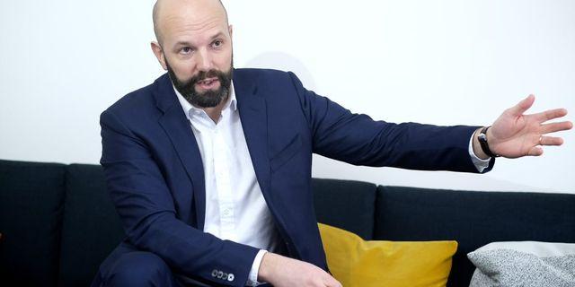 Mattias Dahl, vd Transportföretagen. Sören Andersson