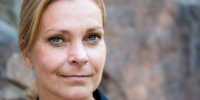 Lena Nitz, ordförande Polisförbundet Christine Olsson/TT / TT NYHETSBYRÅN