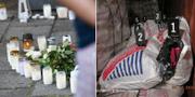 Ljus har tänts i Malmö efter veckans dödsskjutning/ett narkotikabeslag. TT