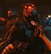 """""""Cyberpunk 2077"""" utspelas ur förstapersonsperspektiv, som innebär stora möjligheter, enligt spelskaparna. Bandai Namco/TT"""
