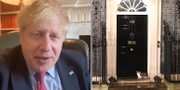 Boris Johnson//10 Downing street i London. TT