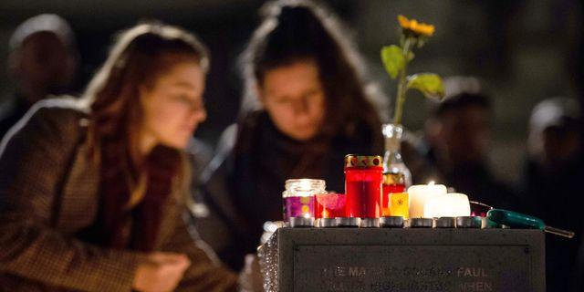 Minnesstund för offren i Halle. SWEN PFORTNER / dpa