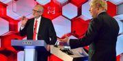Boris Johnson och Jeremy Corbyn. Jeff Overs / TT NYHETSBYRÅN