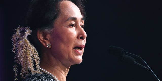 Aung San Suu Kyi. Arkivbild. ROSLAN RAHMAN / AFP
