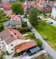 Åsgatan i Linköping där morden ägde rum/Daniel Nyqvist.
