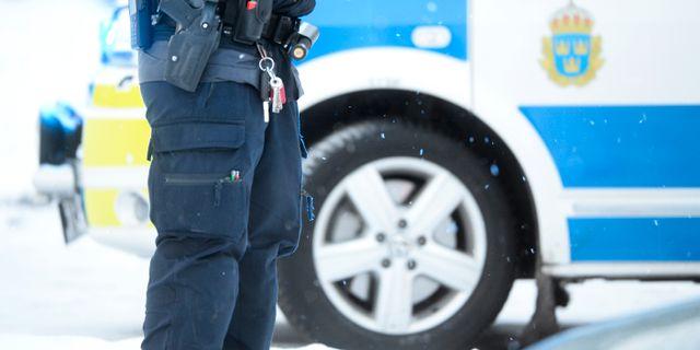 Illustrationsbild på polisen. Fredrik Sandberg/TT / TT NYHETSBYRÅN