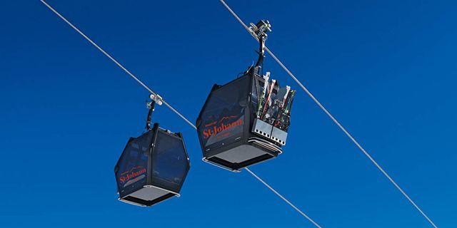 En ny gondollift ger en ännu bättre skidupplevelse i österrikiska Sankt Johann. SkiStar