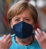 Angela Merkel.  John Thys / TT NYHETSBYRÅN