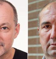 Zoran Alagic och Kurdo Baksi.  TT
