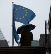 Illustrationsbild. EU:s högkvarter i Bryssel. Virginia Mayo / TT NYHETSBYRÅN