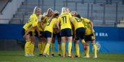 Svenska damlandslaget i fotboll. Adam Ihse/TT / TT NYHETSBYRÅN