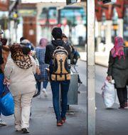 Nyanlända flyktingar på Malmö Central. Arkivbild. Anders Wiklund/TT / TT NYHETSBYRÅN