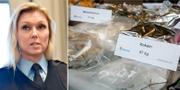 Linda H Staaf / Beslagtagen narkotika TT