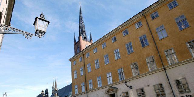 Kammarrättens hus på Riddarholmen i Stockholm. BERTIL ERICSON