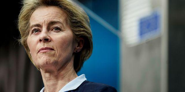 Ursula von der Leyen. KENZO TRIBOUILLARD / AFP