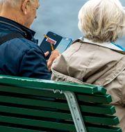 Få pensionärer står på valbar plats till riksdagen.  Claudio Bresciani/TT / TT NYHETSBYRÅN
