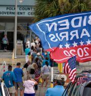 Förtidsröstning i Florida. Chris O'Meara / TT NYHETSBYRÅN