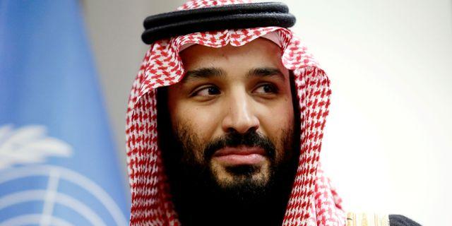 Mohammed bin Salman. Amir Levy / TT NYHETSBYRÅN