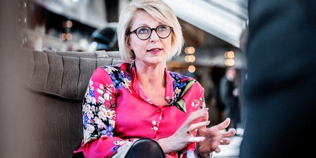 Elisabeth Svantesson. Tomas Oneborg/SvD/TT / TT NYHETSBYRÅN