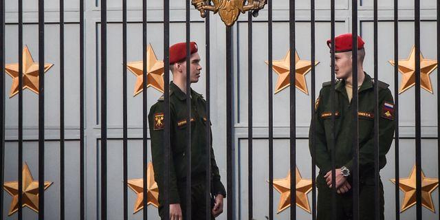 Ryska försvarsdepartementet. VASILY MAXIMOV / AFP