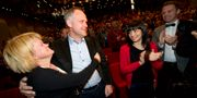 Jonas Sjöstedt när han valdes till partiledare för Vänsterpartiet i januari 2012.  FREDRIK SANDBERG / TT / TT NYHETSBYRÅN