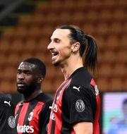 Lukaku och Ibrahimovic hölls isär i samband med bråket. NICOLO CAMPO / BILDBYRÅN