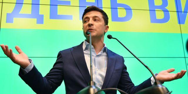 Ukrainas president Volodymyr Zelenskyj. GENYA SAVILOV / AFP