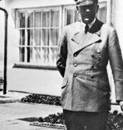 Adolf Hitler och Eva Braun. TT NYHETSBYRÅN