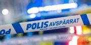 En polisbil/arkivbild.  Johan Nilsson/TT / TT NYHETSBYRÅN