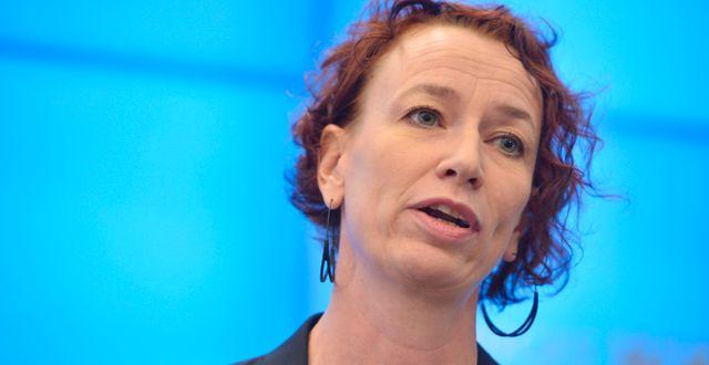 Christina Höj Larsen (V) Vilhelm Stokstad/TT / TT NYHETSBYRÅN