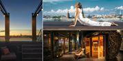 I veckan öppnade ett nytt takspa på Brunkebergstorg i Stockholm. Downtown Camper