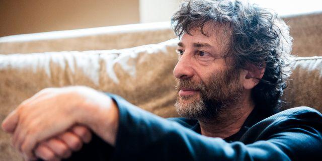 Neil Gaiman. MAJA SUSLIN / TT / TT NYHETSBYRÅN