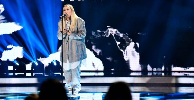 Idol-deltagaren Ella Hedström. Arkivbild. Anders Wiklund/TT / TT NYHETSBYRÅN