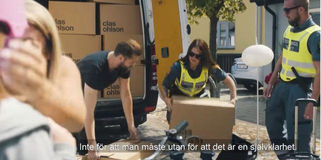 Bild från kommunens reklamfilm.