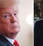 Donald Trump / Robert Mueller.  TT