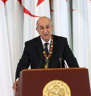President Abdelmadjid Tebboune  Ramzi Boudina / TT NYHETSBYRÅN