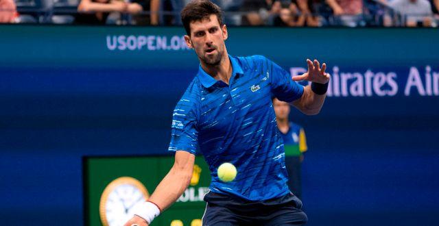 Novak Djokovic.  DON EMMERT / AFP