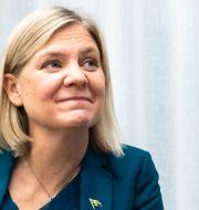 Finansminister Magdalena Andersson (S). Arkivbild. Amir Nabizadeh/TT / TT NYHETSBYRÅN