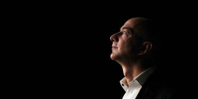 Jeff Bezos. Reed Saxon / TT NYHETSBYRÅN