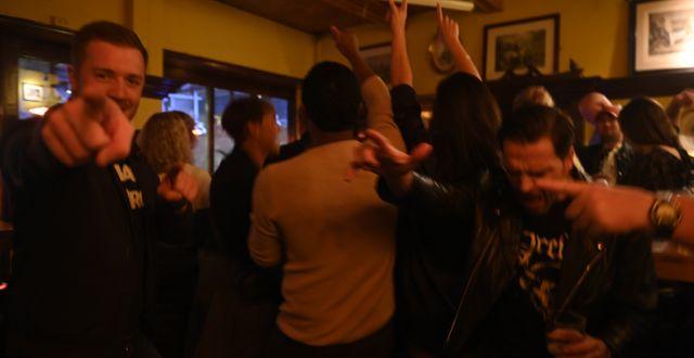 Bild från festkvällen i Oslo, Norge Annika Byrde / TT NYHETSBYRÅN