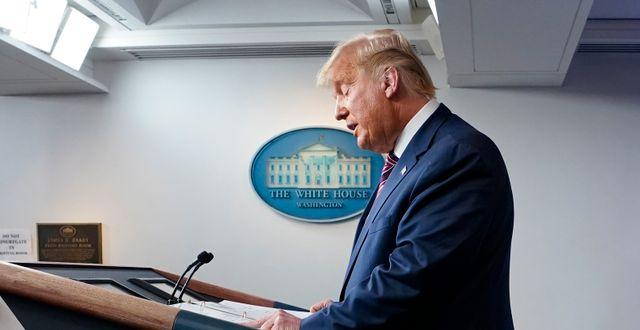 Donald Trump Evan Vucci / TT NYHETSBYRÅN