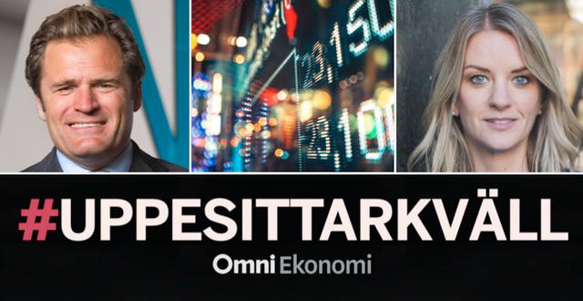 Adam Kostyál och Maria Landeborn är två av gästerna i första avsnittet av #Uppesittarkväll.  Pressbilder / TT Bild
