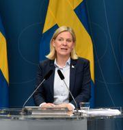 Magdalena Andersson (S). Robin Ek / TT / TT NYHETSBYRÅN