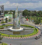 Awasa city, största staden i regionen SNNP. MICHAEL TEWELDE / AFP