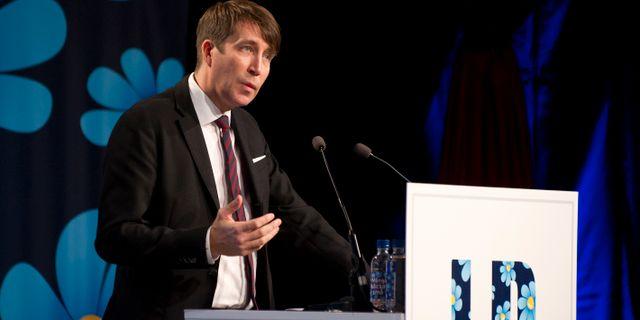 Richard Jomshof, SD:s partisekreterare. Björn Lindgren/TT / TT NYHETSBYRÅN