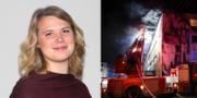 Emmy Rydstrand, reporter på Sveriges Radio P4 Skaraborg. Sveriges Radio/TT