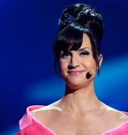 Petra Mede ledde Eurovision song contest för SVT. Nu får hon ännu ett hedersuppdrag. JESSICA GOW / SCANPIX