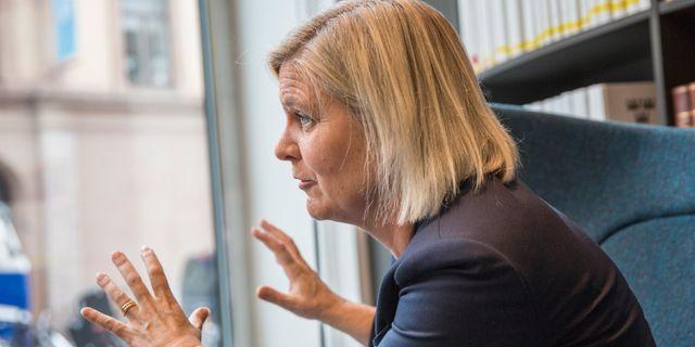 Magdalena Andersson (S). Allis Nettréus/SvD/TT / TT NYHETSBYRÅN
