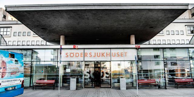 Södra sjukhuset Tomas Oneborg/SvD/TT / TT NYHETSBYRÅN