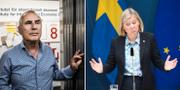 Harry Flam och Madalena Andersson Fredrik Sandberg/TT och Magnus HjalmarssonNiederman/TT